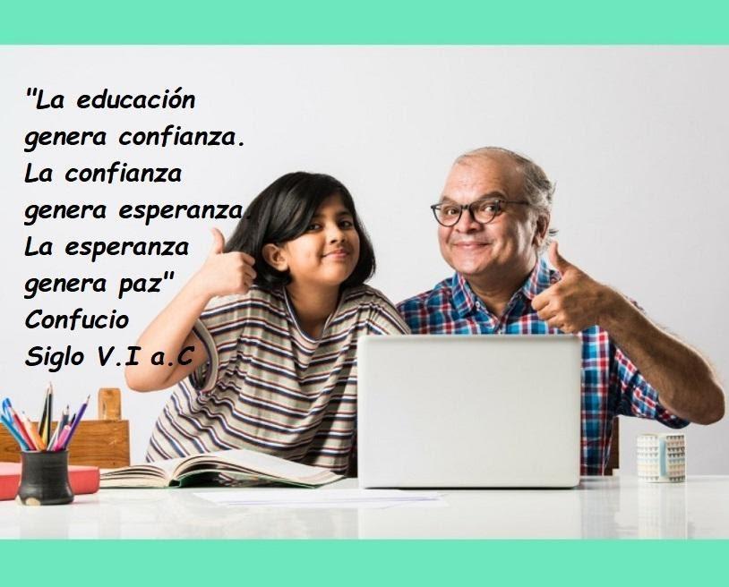 La educación genera confianza